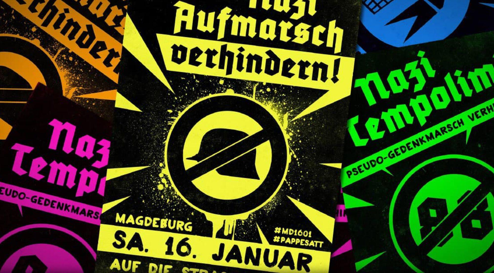 Naziaufmarsch verhindern 16.01.2021